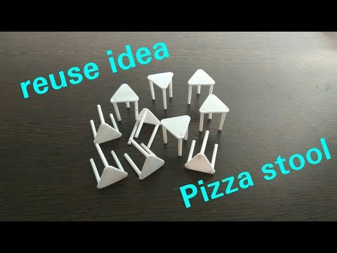 DIY | New idea | Don't throw Pizza Stool | Best out of waste