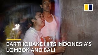 Earthquake hits Indonesia's Lombok and Bali with at least 91 dead