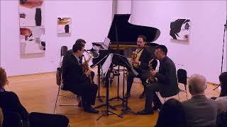 Manhattan Saxophone Quartet Contra spem spero by Volodymyr Runchak