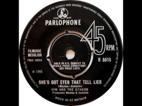 HIM & THE OTHERS - She's Got Eyes That Tell Lies - PARLOPHONE R 5510 - UK 1966 Mod R&B Raver