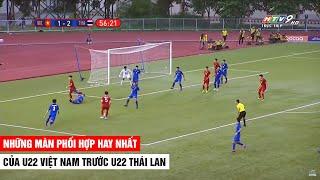 Đây Chính Là Cái Cách U22 Việt Nam Tiễn Người Thái Về Nước | Hoàng Đức Hóa Zidane Liên Tục Đột Phá