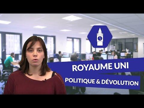 Un Royaume Uni : Politique et dévolution - Anglais - digiSchool
