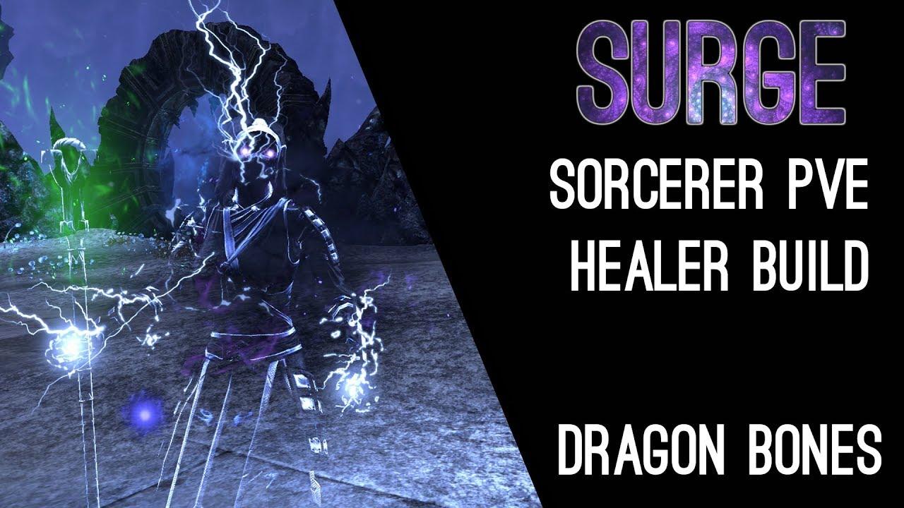 Magicka Sorcerer Healer Build PvE