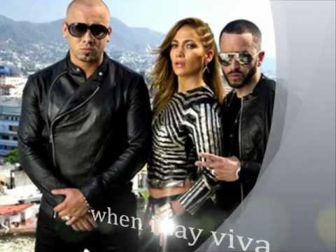 Wisin & Yandel Ft.Jennifer Lopez - Follow The Leader (lyrics)