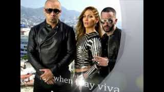 Wisin & Yandel Ft.Jennifer Lopez - Follow The Leader (lyrics)
