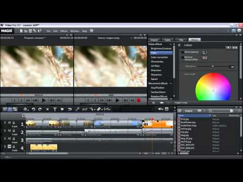 TUTORIAL: Image Optimization with MAGIX Video Pro X (ENG)