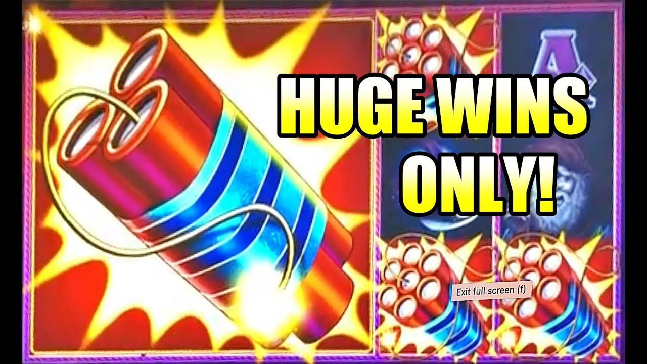 Huge Slot Wins 2021