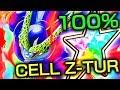 LA FORME DE VIE ULTIME !!! TEST 100% ZTUR CELL TEC   DBZ DOKKAN BATTLE FR