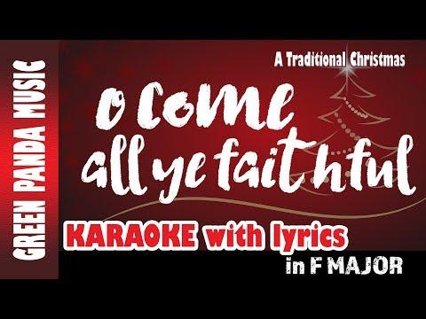 O Come all ye faithful - Karaoke/Backing Track - from The Traditional Christmas Carols CD - YouTube