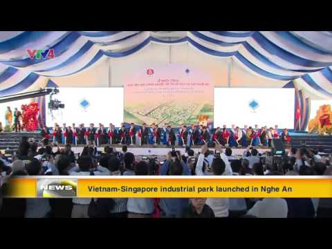 Vietnam Singapore industrial park launched in Nghe An