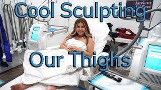 We Try Cool Sculpting Our Thighs!