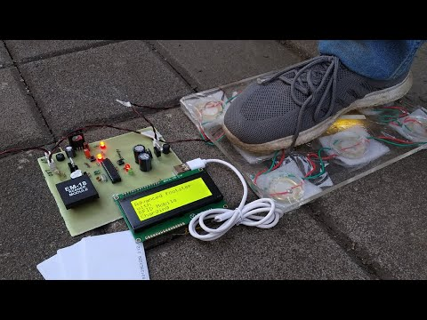 Smart Foot Step Power Generation with RFID based Mobile Charging
