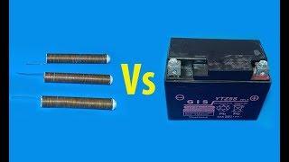 How to make 3.7V battery from copper wire , 3.7V Copper-Aluminium VS 3.7V Li-ion battery