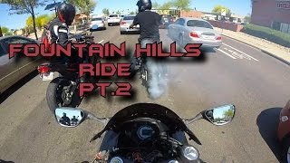 fountain hills ride with the boyz pt 2