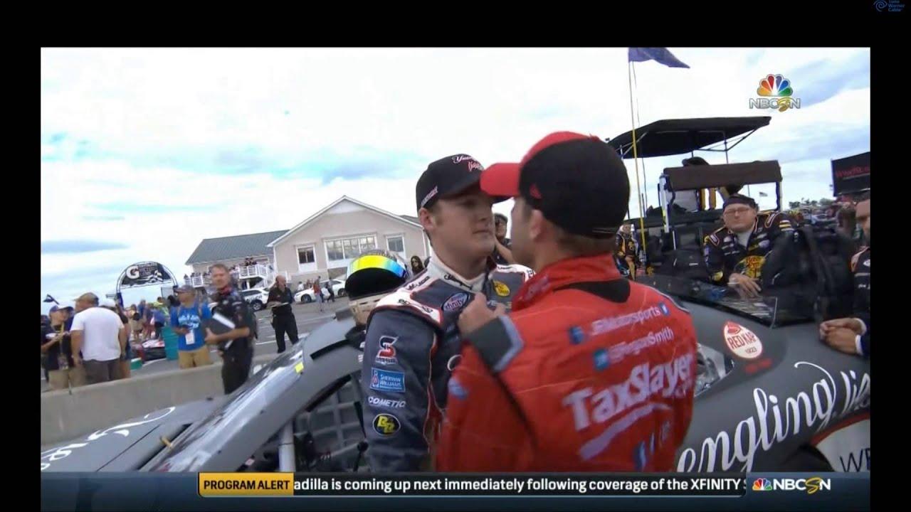Otra pelea en plena NASCAR