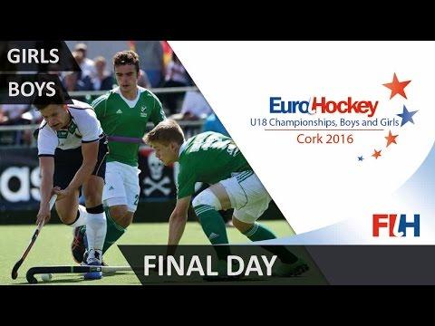 EuroHockey Youth Championships 2016 - Final Day - Cork, Ireland