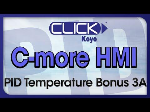 CLICK PID Tutorial Videos Bonus 3A - C-more PID Templates