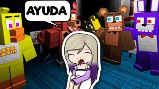 THE ANIMATRONICS WANT TO KILL US IN ROBLOX FNAF Five Nights At Freddy's