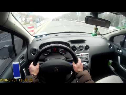 Daily drive in Qingdao POV (Peugeot 408)