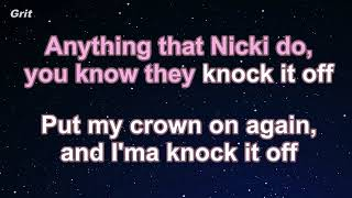 Hard White   Nicki Minaj  Karaoke Instrumental Video