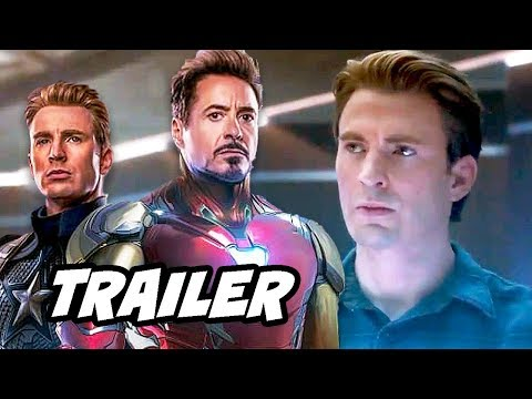 Avengers Endgame Trailer - Opening Scene and Captain America Breakdown