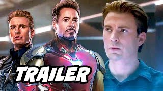 Avengers Endgame Trailer - Opening Scene and Captain America Breakdown