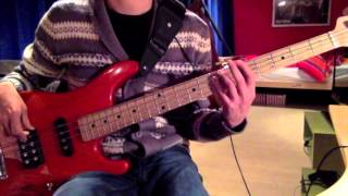 the verve bitter sweet symphony bass cover