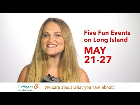 Five Fun Events on Long Island May 21 to 27 with Jenny Shep