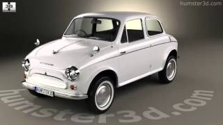 Mitsubishi 500 1960 3D model by Humster3D.com
