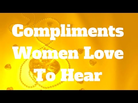 Words men love to hear from women