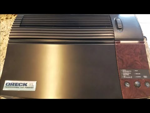 Oreck XL Professional Air Purifier Review and Cost