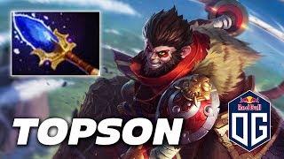 TOPSON Monkey King - TEAM OG - Dota 2 Pro Gameplay