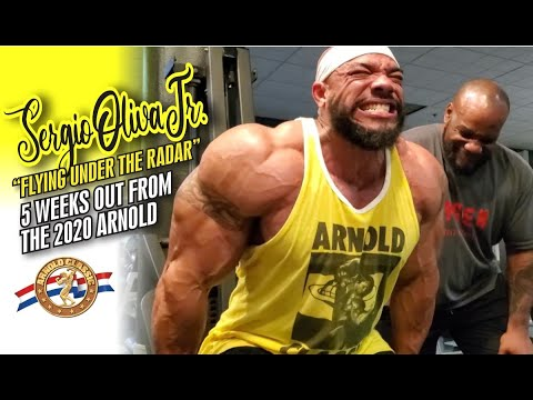 SERGIO OLIVA JR.-FLYING UNDER THE RADAR-5 WEEKS OUT FROM THE 2020 ARNOLD CLASSIC!