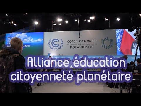 Des jeunes à la COP24 : L'éducation un levier important pour accompagner le dérèglement climatique ?