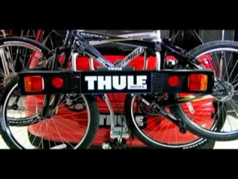 d29c2c770 Suporte para bicicletas Thule Xpress 970 - YouTube