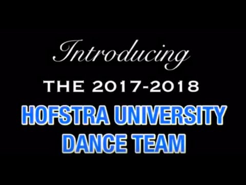 Hofstra University Dance Team                                    Meet The Team 2017-2018