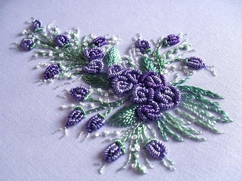 الطرز البرازيلي Brazilian embroidery