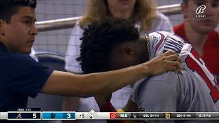 Ronald Acuña Jr. Injury (Torn ACL) l Out For Rest Of Season