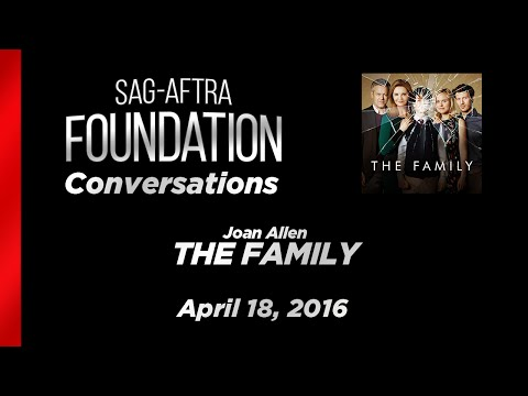 Conversations with Joan Allen of THE FAMILY