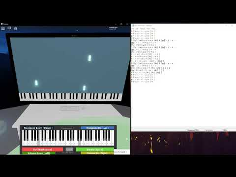 Dire Dire Docks played on computer keyboard | Virtual Piano Visualization  Showcase