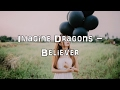 Imagine Dragons Believer Acoustic Cover Lyrics Karaoke mp3