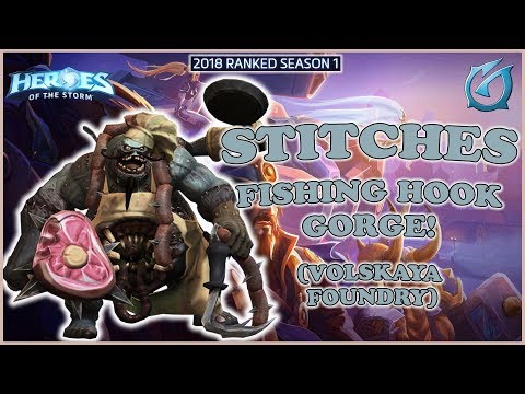 Grubby | Heroes of the Storm - Stitches - Fishing Hook - Gorge - HL 2018 S1 - Volskaya Foundry