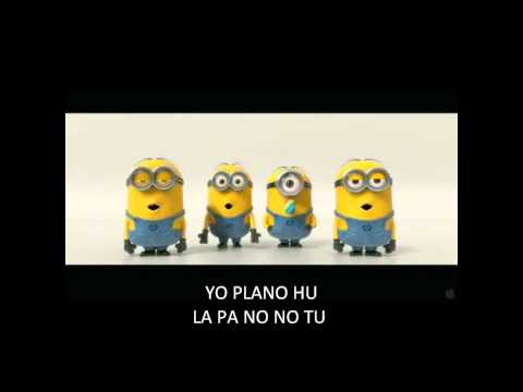 Banana Song with subtitles- Despicable Me 2