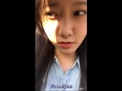 [ENG SUB] 170530 Yoona's second Instagram Live