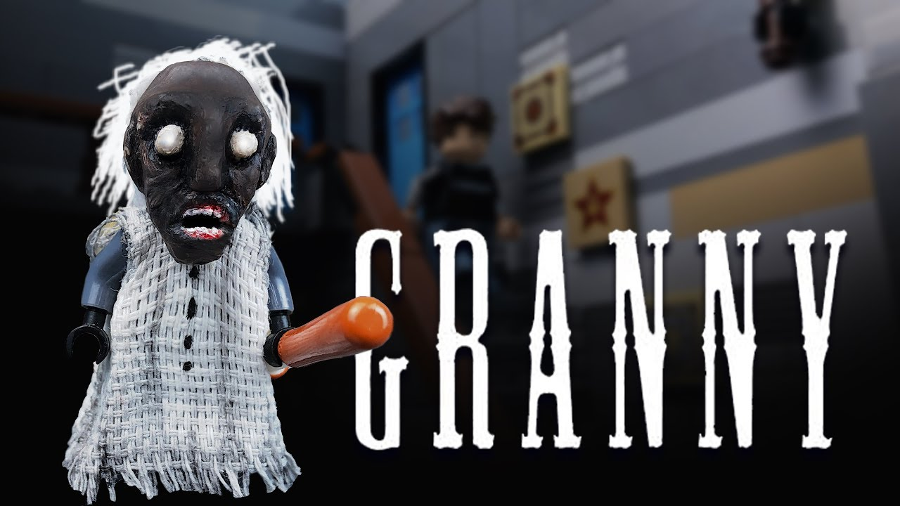 LEGO GRANNY 🔴 Horror game Granny 💀 LEGO Stop Motion Animation