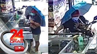 Cellphone, tinangay ng lalaking nagpanggap na customer   24 Oras Weekend