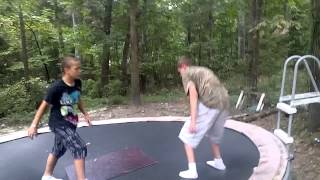 trampoline wrestling tnw summerbeatdown ppv part 1 cj vs the killer title
