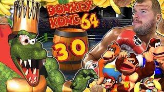 DONKEY KONG 64 🍌 #30: Final King K. Rool Boss Battle im Boxring [ENDE]