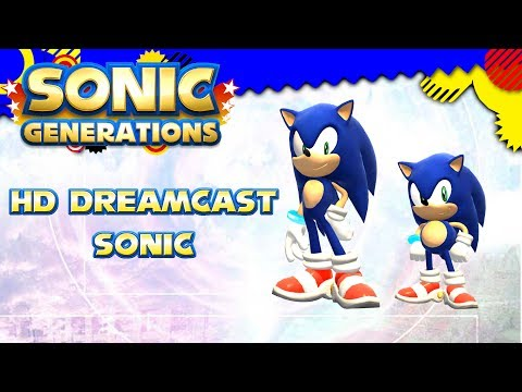 Sonic Generations - HD Dreamcast Sonic