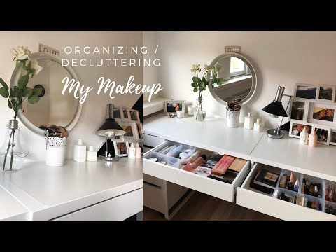 Organizing My Makeup Collection